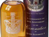 Queen Diamond Wedding Anniversary Card English Whisky Company Coronation Of Queen Elizabeth 60th