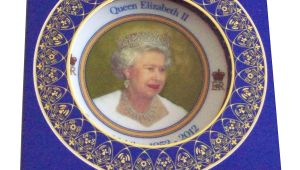 Queen Diamond Wedding Anniversary Card Queen Elizabeth Ii Diamond Jubilee souvenir Medium Size