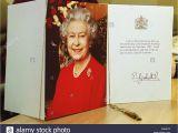 Queen Diamond Wedding Anniversary Card Queen Mother 100 Birthday Stockfotos Queen Mother 100