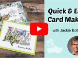Quick and Easy Card Ideas Fun Card Ideas Using Designer Series Paper Dsp Dsp