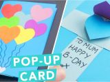 Quick and Easy Card Making Ideas 3d Pop Up Card Diy Card Ideas