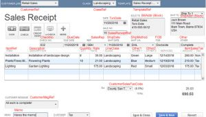 Quickbooks Sales Receipt Template Importing Sales Receipts Into Quickbooks Zed Systems