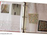 Quilt Journal Template Make A Quilt Journal Hidden Treasure Crafts and Quilting