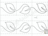 Quilting Templates for Borders Quilting On A Roll Quilting Made Easy