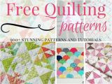 Quilting Templates Free Online 900 Free Quilting Patterns Favequilts Com