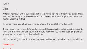 Quote Follow Up Email Template Follow Up after A Quote Email Free Samples Writing Tips