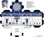 R2d2 Printable Template R2 D2 Star Wars Papercraft