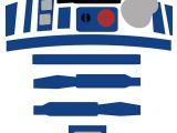 R2d2 Printable Template R2d2 Star Wars Art Work Wall Art Print Poster by