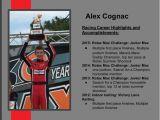 Race Car Driver Resume Sample Alex Cognac Professional Race Driver Resume