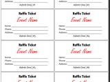 Raffel Ticket Template 20 Free Raffle Ticket Templates with Automate Ticket