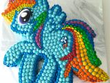 Rainbow Dash Cake Template Howtocookthat Cakes Dessert Chocolate My Little
