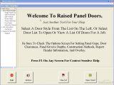 Raised Panel Door Templates Download Free Raised Panel Doors Raised Panel Doors 5 95