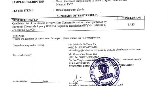 Reach Certificate Template Reach Compliance Letter Related Keywords Reach