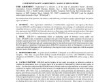 Real Estate Agent Contract Template 12 Real Estate Confidentiality Agreement Templates Free