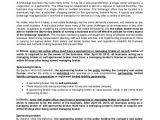 Real Estate Agent Contract Template Sample Real Estate Employment Agreement 6 Documents In