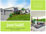 Real Estate Just sold Flyer Templates Customize 153 Just sold Postcard Templates Online Canva