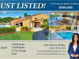 Real Estate Just sold Flyer Templates Just Listed Postcards by Printerbees
