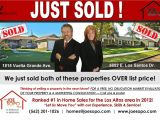 Real Estate Just sold Flyer Templates Just sold Postcards Circle Prospecting without the Phone
