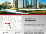 Real Estate Listing Brochure Template Commercial Real Estate Brochure Design Brickhost