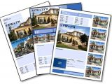 Real Estate Listing Brochure Template Free Real Estate Brochure Templates Invitation Template