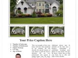 Real Estate Listing Brochure Template Free Real Estate Flyer Templates Mobawallpaper