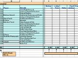 Receipt Ledger Template Accounting Exercises the Cash Receipts Journal
