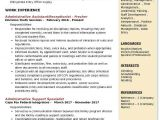 Receptionist Resume format for Fresher Administrative assistant Receptionist Resume Samples