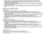 Receptionist Resume Word format Receptionist Resume Sample Resume Companion