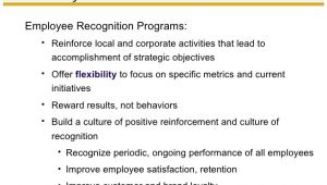 Recognition Proposal Template Employee Reward and Recognition
