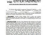 Record Deal Contract Template 20 Music Contract Templates Word Pdf Google Docs