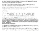 Record Label Artist Contract Template Non Exclusive Recording Contract Template