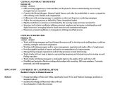 Recruiter Contract Template Contract Position On Resume Example Vvengelbert Nl