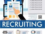 Recruitment Brochure Templates Free Free Recruiting V5 Psd Flyer Template Download