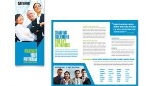 Recruitment Brochure Templates Free Staffing Recruitment Agency Brochure Template Design