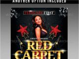 Red Carpet Flyer Template Free Red Carpet Party Flyer Template Print Ad Templates