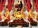 Red Carpet Flyer Template Free Red Carpet Premium A5 Flyer Template Exclsiveflyer