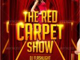 Red Carpet Flyer Template Free Red Carpet Show Flyer Template by Lordfiren On Deviantart
