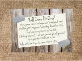 Redneck Party Invitation Templates Redneck Party Invitation Personalized and Printable 5×7