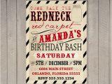 Redneck Party Invitation Templates Redneck Red Carpet Birthday Invitation Duck by