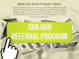 Referral Program Flyer Template Join Referral Flyer Flyer Templates On Creative Market