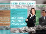 Referral Program Flyer Template Referral Partner Program Flyer Flyer Templates