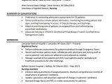 Registered Nurse Resume Samples Registered Nurse Resume Sample Chegg Careermatch