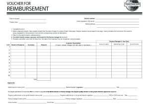 Reimbursement Receipt Template Reimbursement Receipt Expense Reimbursement Receipts