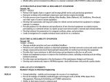 Reliability Engineer Resume Electrical Reliability Engineer Resume Samples Velvet Jobs