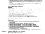 Reliability Engineer Resume Quality Reliability Engineer Resume Samples Velvet Jobs