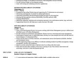 Reliability Engineer Resume Site Reliability Engineer Resume Samples Velvet Jobs