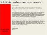 Relief Teacher Cover Letter Cover Letter for Relief 28 Images Sle Cover Letter for
