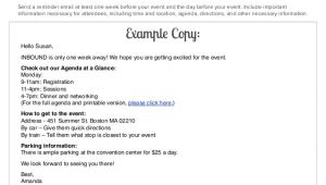 Reminder Email for event Template the Ultimate event Reminder Email Guide
