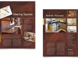 Remodeling Flyer Templates Free Home Remodeling Datasheet Template Word Publisher