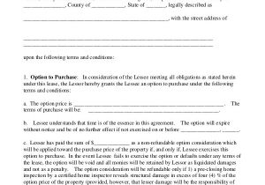 Rent to Buy Contract Template 9 Lease Purchase Agreement Word Pdf Google Docs